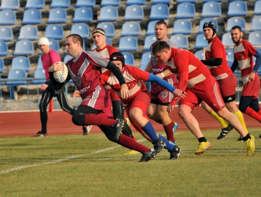 Регбист из Красноармейска продемонстрировал потрясающую игру в финале Кубка Украины по регби лиг (фото) - фото 2