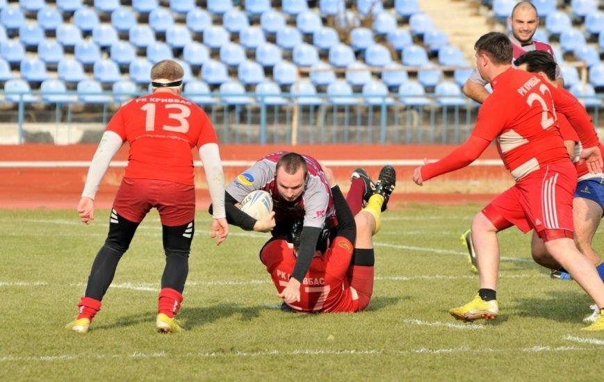 Регбист из Красноармейска продемонстрировал потрясающую игру в финале Кубка Украины по регби лиг (фото) - фото 1