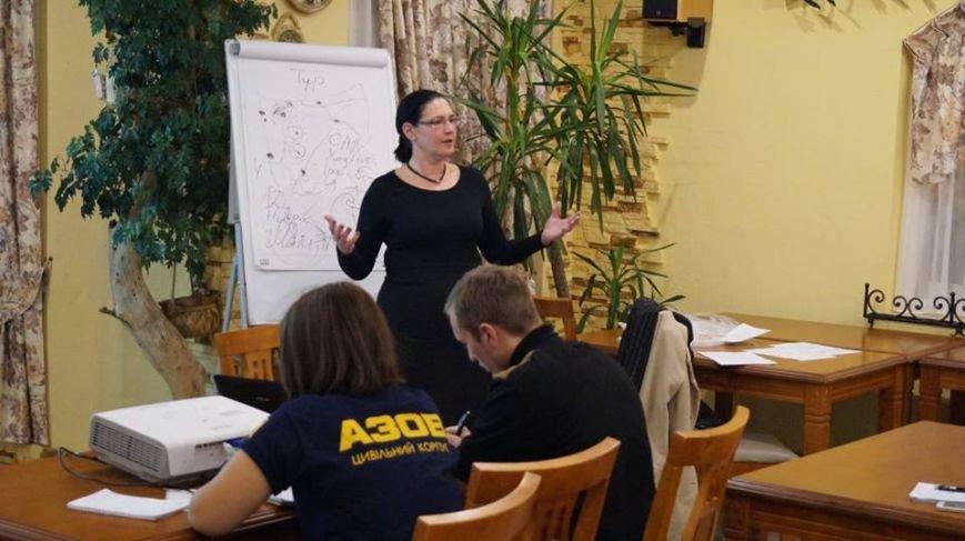 В Бердянске завершила свою работу Украинская миротворческая школа, фото-8