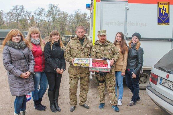 Мариупольцы поздравили артиллеристов с профессиональным праздником (ФОТО+ВИДЕО) (фото) - фото 1