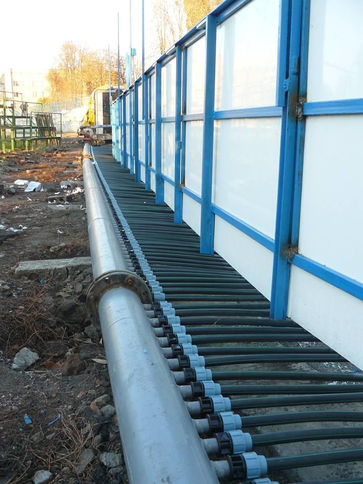 В Сумах заканчивается строительство ледовой спортивной арены (ФОТО) (фото) - фото 1