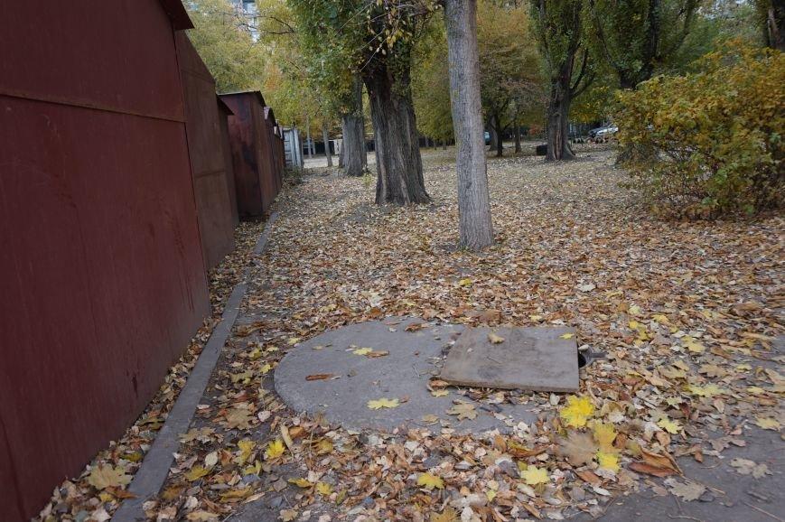 Криворожане предлагают выкупать в пунктах приема металла крышки и накрывать ими открытые люки (ФОТО) (фото) - фото 2