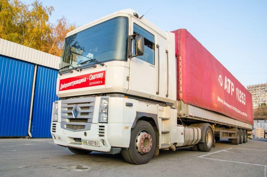 200 тонн стройматериалов отправит Днепропетровщина для восстановления луганского Сватово (ФОТО), фото-6