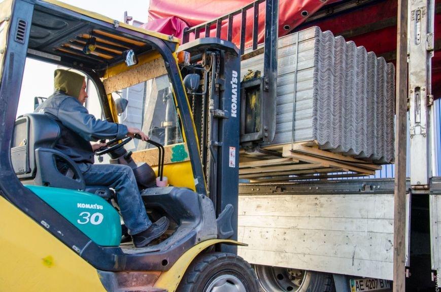 200 тонн стройматериалов отправит Днепропетровщина для восстановления луганского Сватово (ФОТО), фото-4