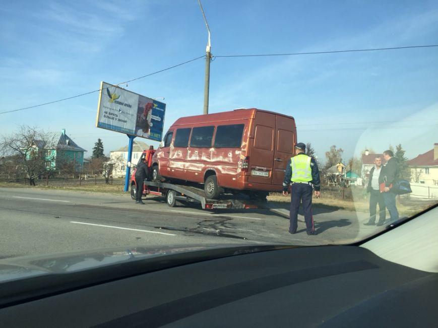 Под Житомиром иномарка врезалась в автобус с пассажирами (ФОТО), фото-3
