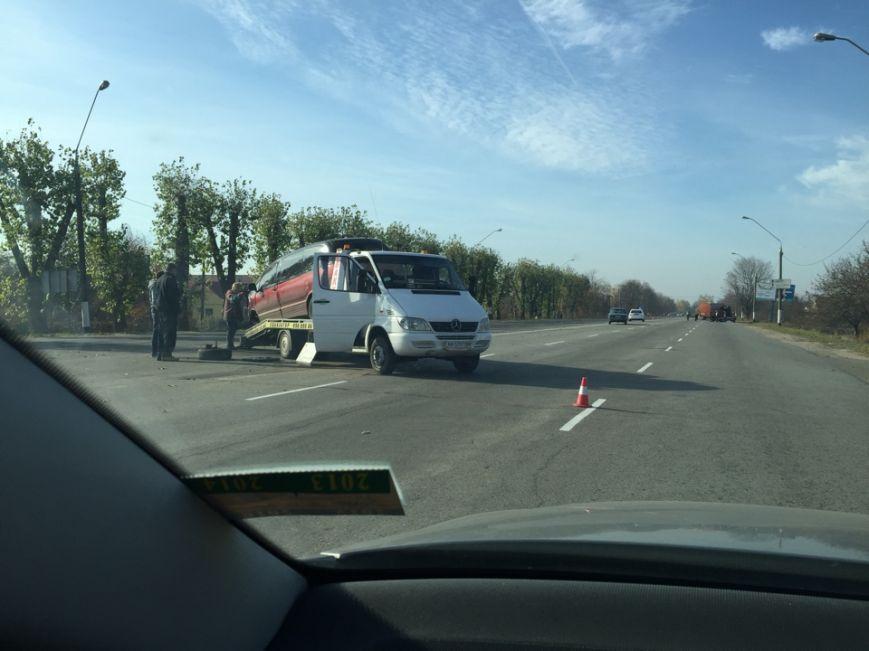 Под Житомиром иномарка врезалась в автобус с пассажирами (ФОТО), фото-2