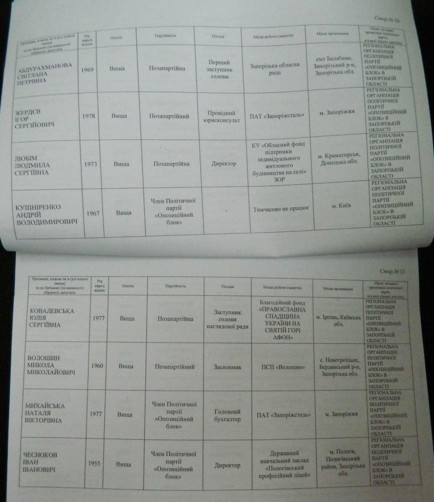 ОФИЦИАЛЬНО: имена новых депутатов запорожского областного совета (фото) - фото 2