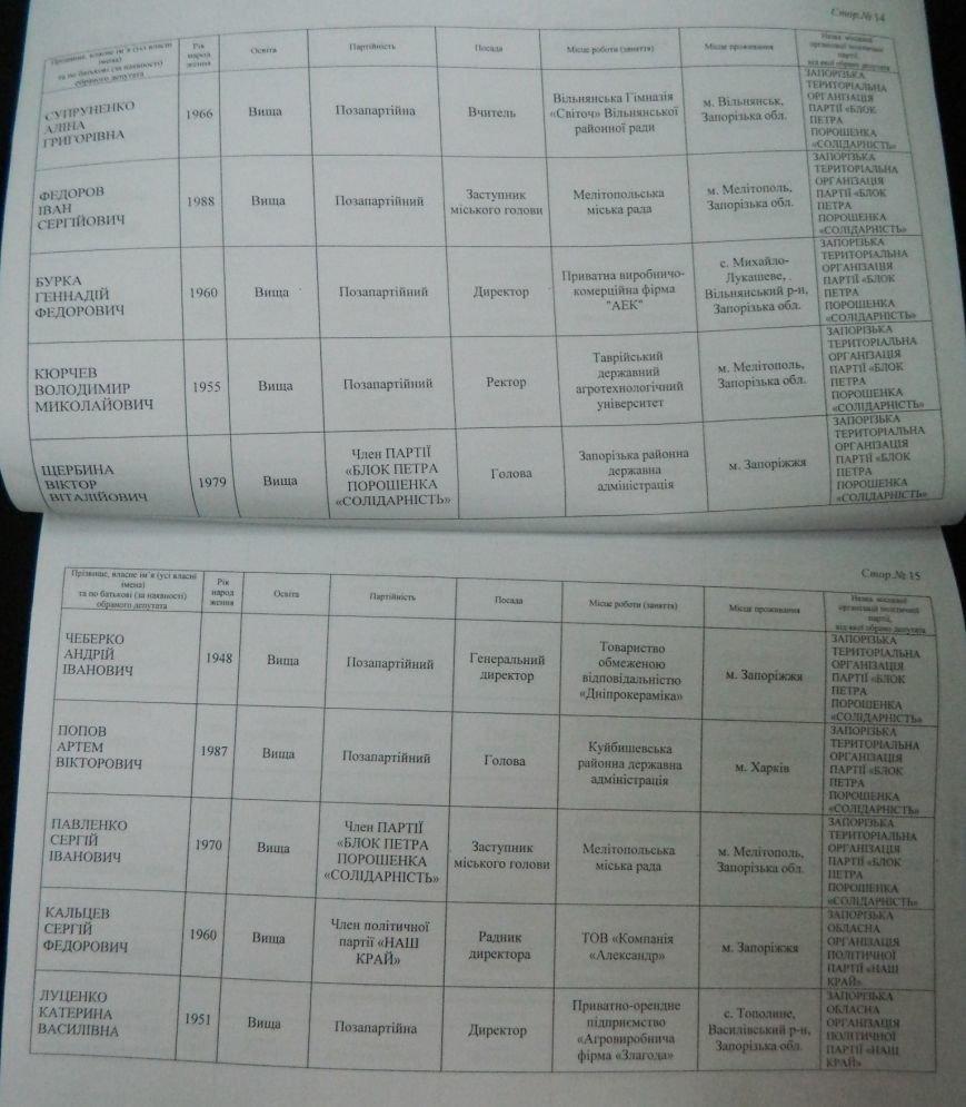 ОФИЦИАЛЬНО: имена новых депутатов запорожского областного совета (фото) - фото 4