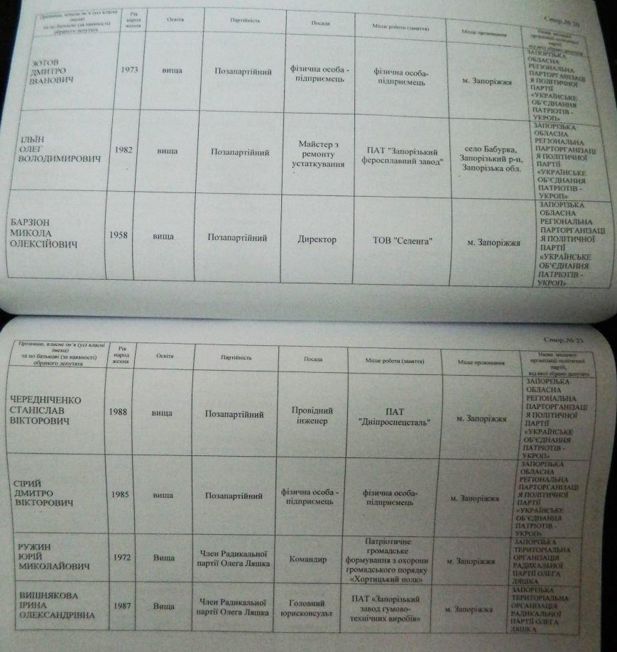 ОФИЦИАЛЬНО: имена новых депутатов запорожского областного совета (фото) - фото 7