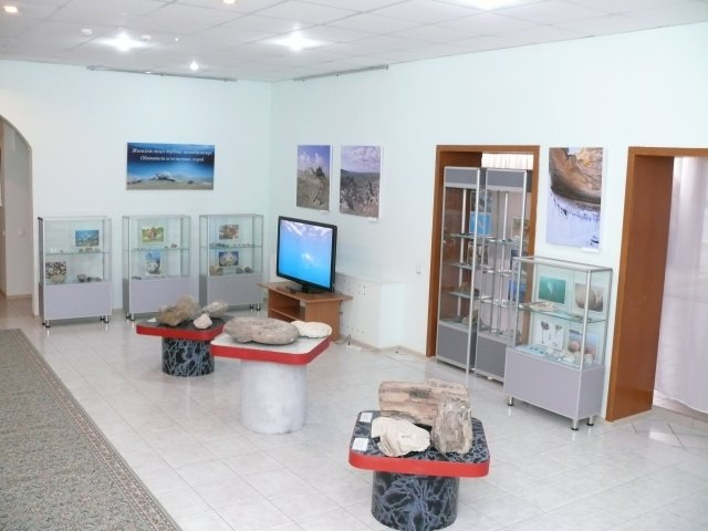 Выставка «Обитатели исчезнувших морей» в Актау, фото-1