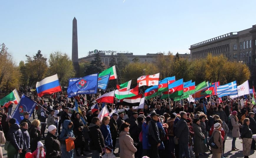 День народного единства Волгоград отметил митингом-концертом, фото-16