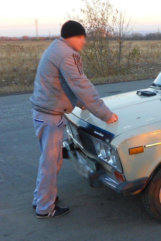 Харьковские нацгвардейцы задержали в зоне АТО изменника Родины (ФОТО), фото-3