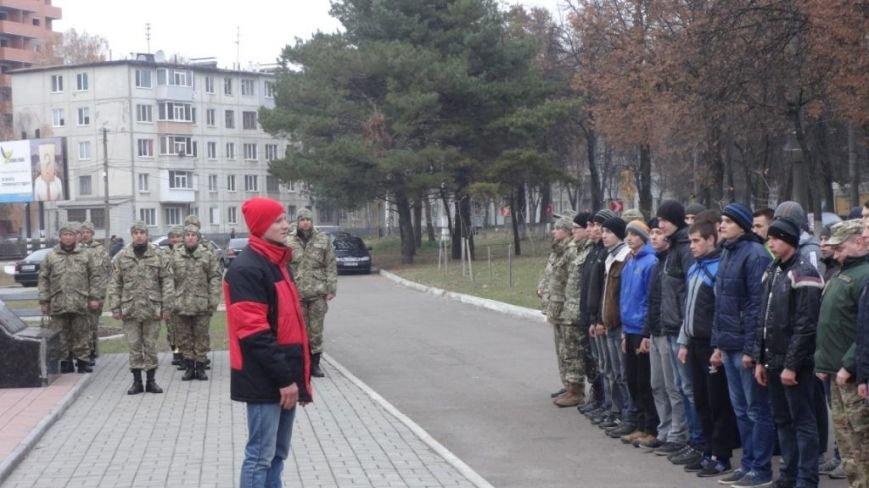 Призывников Сумщины торжественно провели на службу (ФОТО) (фото) - фото 1