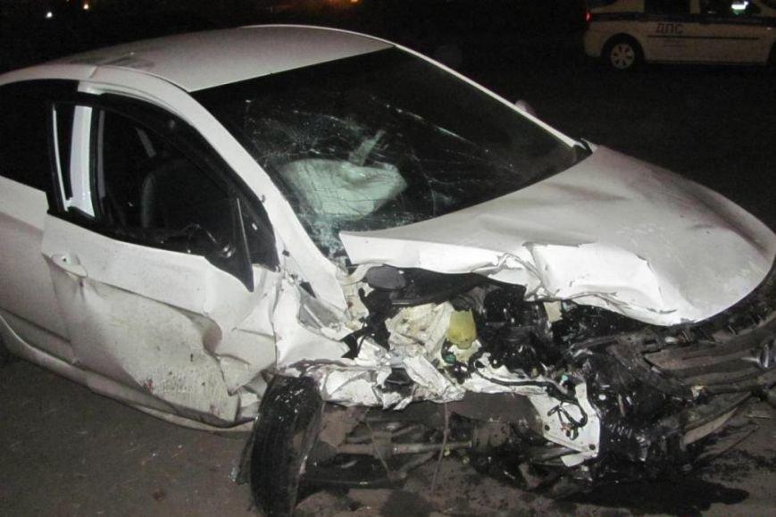 В Старооскольском районе в  ДТП погиб водитель скутера (фото) - фото 1
