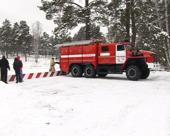 В Полевском округе появился новый пожарный пирс (фото) - фото 1