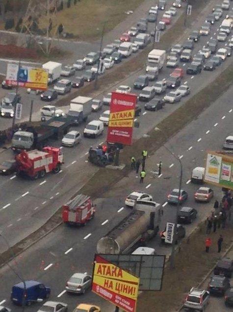 ДТП на Саперно-Слободской: водитель погиб (ФОТО) (фото) - фото 2