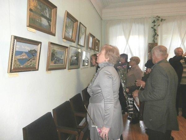 Открытие выставки В творческом порыве