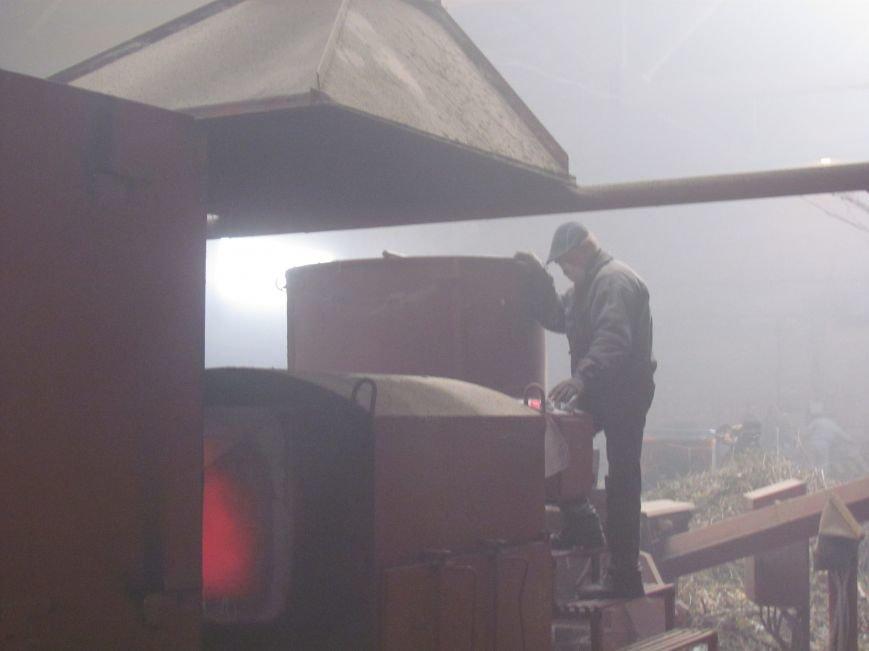 Предприятие Мариупольтеплосеть заготовило  дрова на всю зиму (ФОТО), фото-4