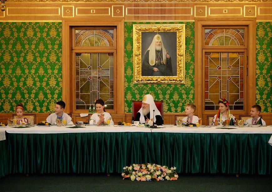 «Горецвет»: Патриарх Кирилл поблагодарил организаторов, которые отвезли  криворожских детей в Москву, фото-6