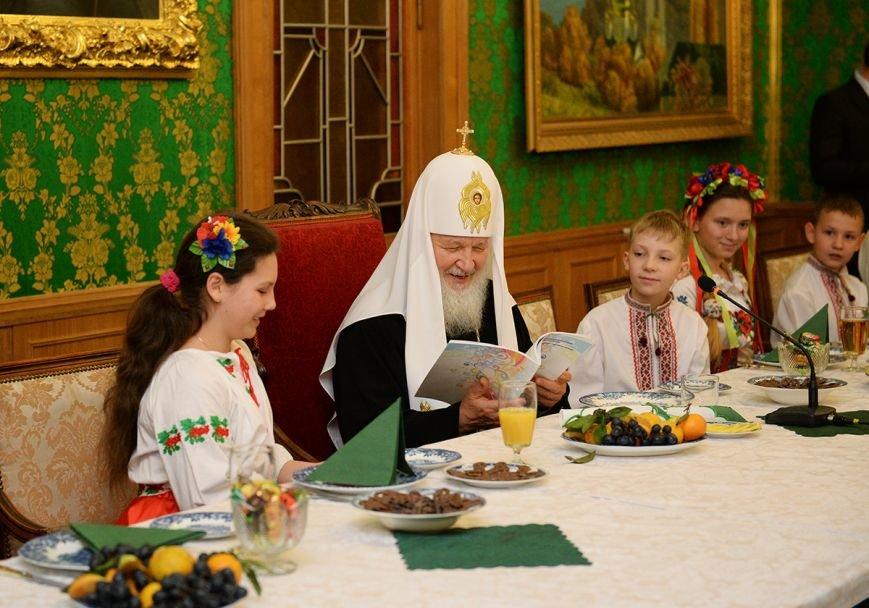 «Горецвет»: Патриарх Кирилл поблагодарил организаторов, которые отвезли  криворожских детей в Москву, фото-7
