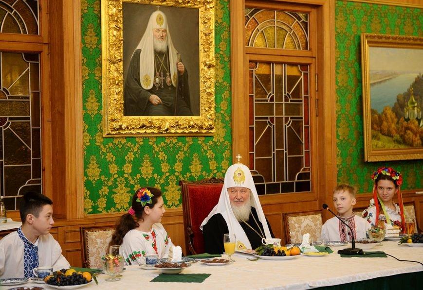 «Горецвет»: Патриарх Кирилл поблагодарил организаторов, которые отвезли  криворожских детей в Москву, фото-3