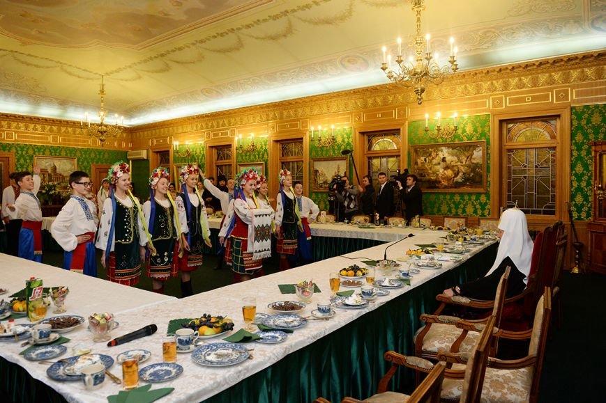 «Горецвет»: Патриарх Кирилл поблагодарил организаторов, которые отвезли  криворожских детей в Москву, фото-1