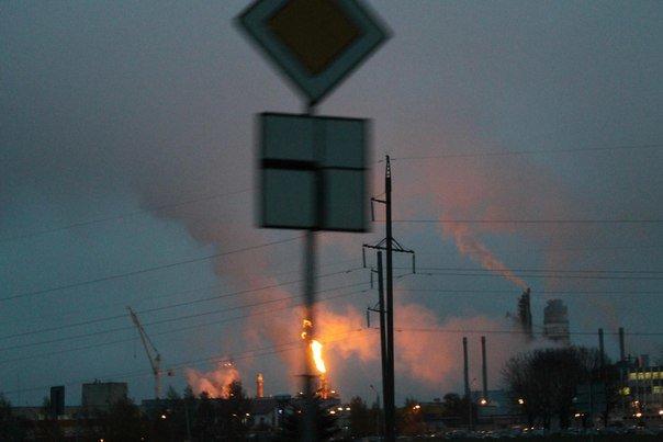 Фотофакт: на ГродноАзот запустили цех, а гродненцы решили, что произошел большой пожар (фото) - фото 2