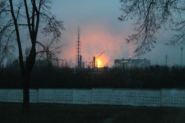 Фотофакт: на ГродноАзот запустили цех, а гродненцы решили, что произошел большой пожар (фото) - фото 5