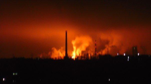 Фотофакт: на ГродноАзот запустили цех, а жители города решили, что произошел большой пожар (фото) - фото 1