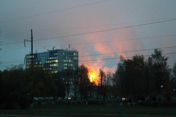 Фотофакт: на ГродноАзот запустили цех, а гродненцы решили, что произошел большой пожар (фото) - фото 7
