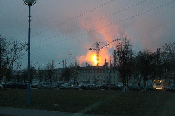 Фотофакт: на ГродноАзот запустили цех, а гродненцы решили, что произошел большой пожар (фото) - фото 6