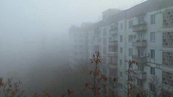 Жители Запорожья делятся в соцсетях впечатлениями от небывалого тумана, - ФОТО (фото) - фото 6
