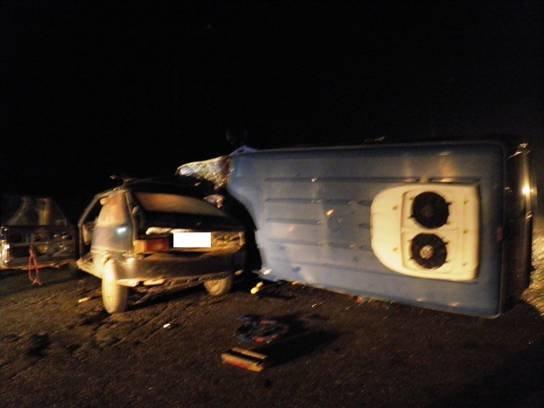 В Киевской области столкнулись два авто, водитель в коме (ФОТО) (фото) - фото 1