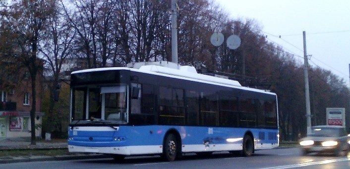 Грузовой бус «бортанул» винницкий троллейбус рядом с «Урожаем» (фото) - фото 1
