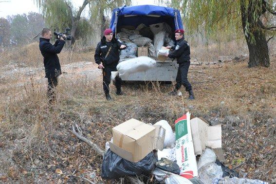 Як полтавські правоохоронці наркотики спалюють (ФОТО) (фото) - фото 1