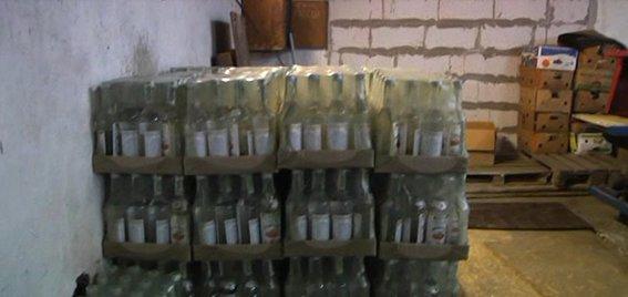 В Петропавловском районе ликвидировали масштабное производство «паленого» алкоголя (фото) - фото 1