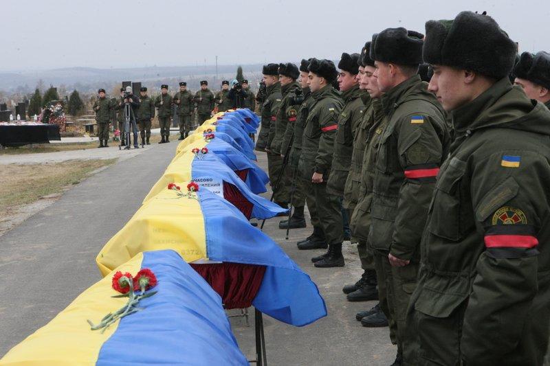 Днепропетровщина снова прощалась с неизвестными бойцами (фото) - фото 2