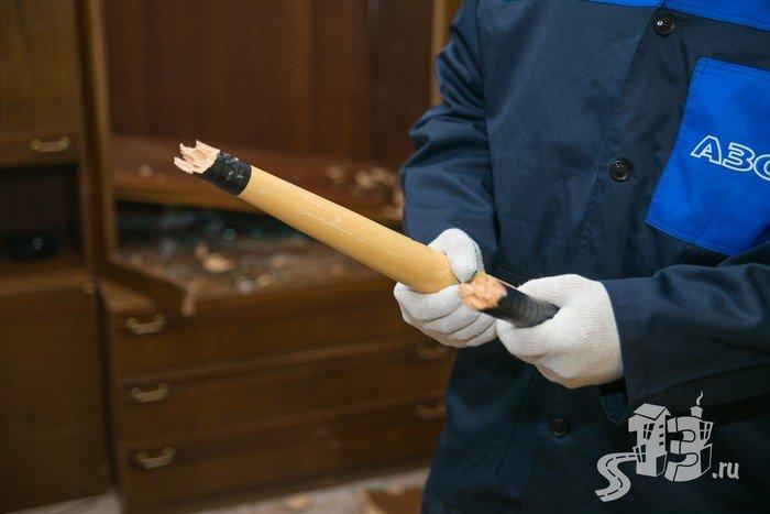 В Гродно открылась первая «расфигачанненая», где можно кувалдой и битой разгромить целую квартиру (фото) - фото 13