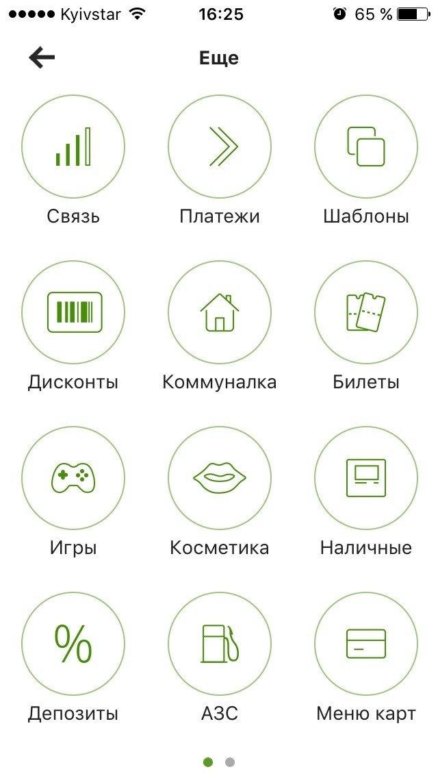 Сервіс Приват24 збирає дисконтні картки в iPhone (фото) - фото 1