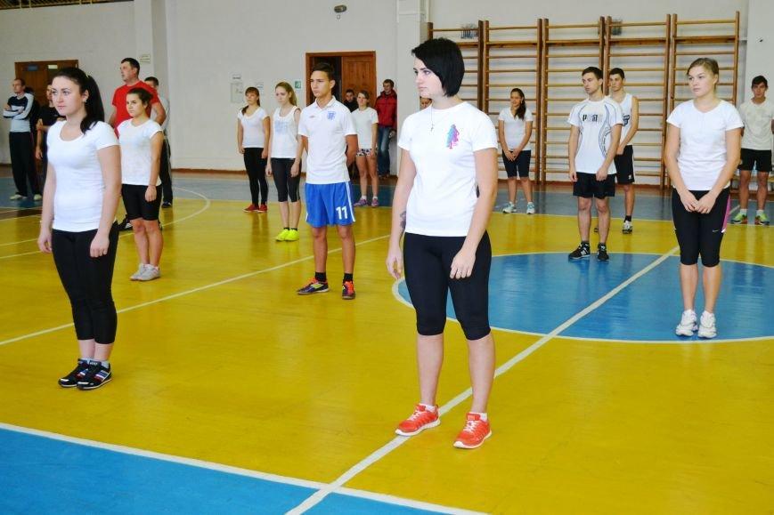 Житомирські студенти провели олімпійську зарядку в рамках всеукраїнської акції, фото-2