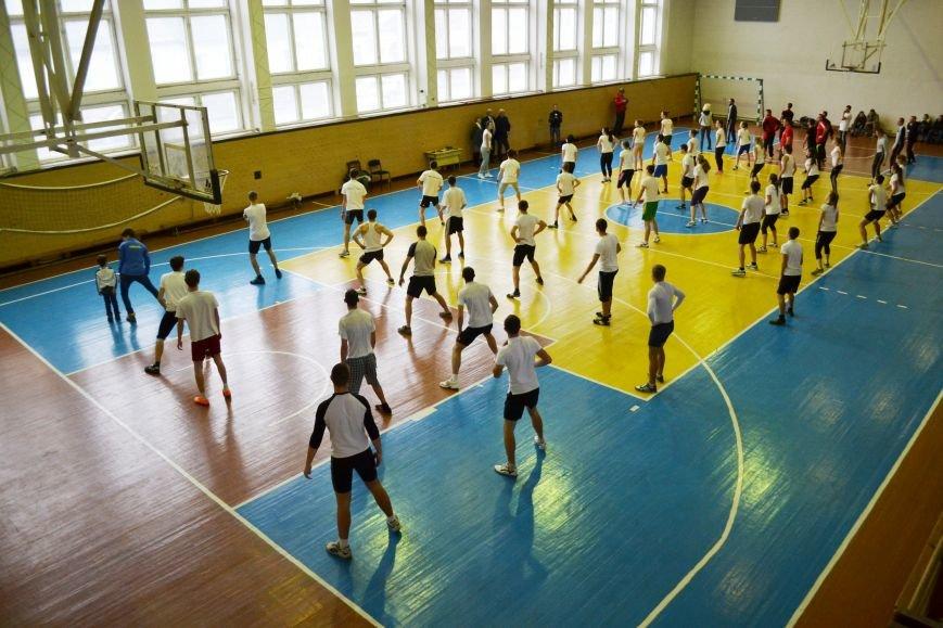 Житомирські студенти провели олімпійську зарядку в рамках всеукраїнської акції, фото-5