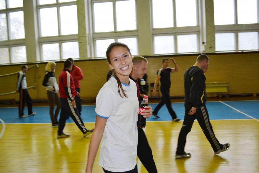 Житомирські студенти провели олімпійську зарядку в рамках всеукраїнської акції, фото-8