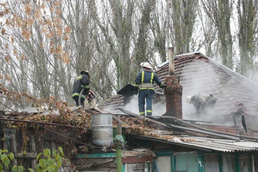В Запорожье на пожаре погиб мужчина, - ФОТО (фото) - фото 1