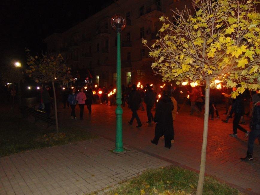 В Сумах прошла «смолоскипна хода» (ФОТО) (фото) - фото 1