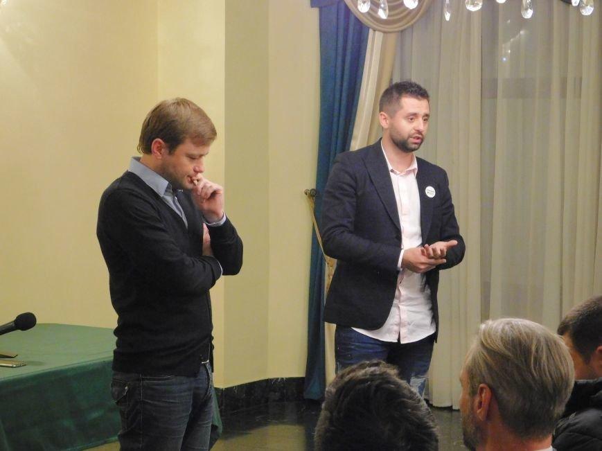 Николаевский волонтер Арахамия поддержит «добро» во 2 туре выборов мэра (ФОТО+ВИДЕО) (фото) - фото 1