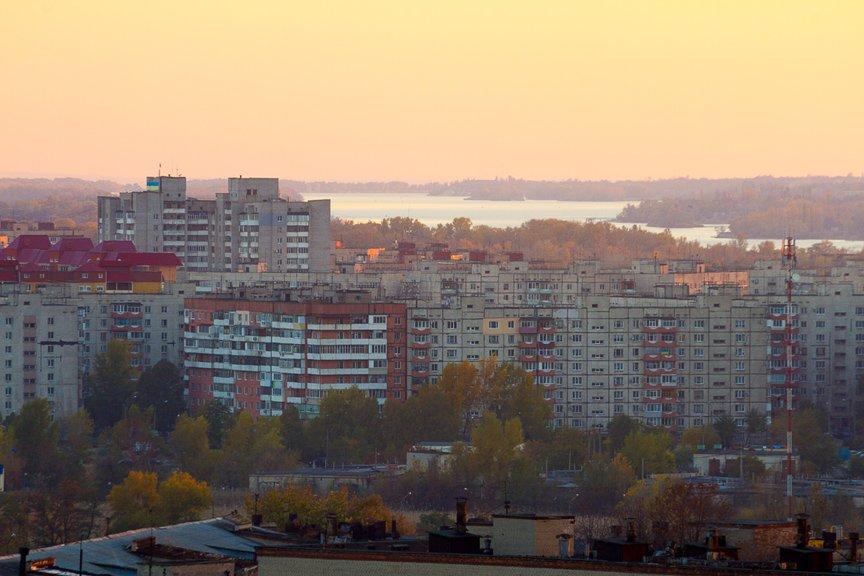 ФОТОПРОЕКТ: Осеннее Запорожье, вид с элеватора (фото) - фото 15