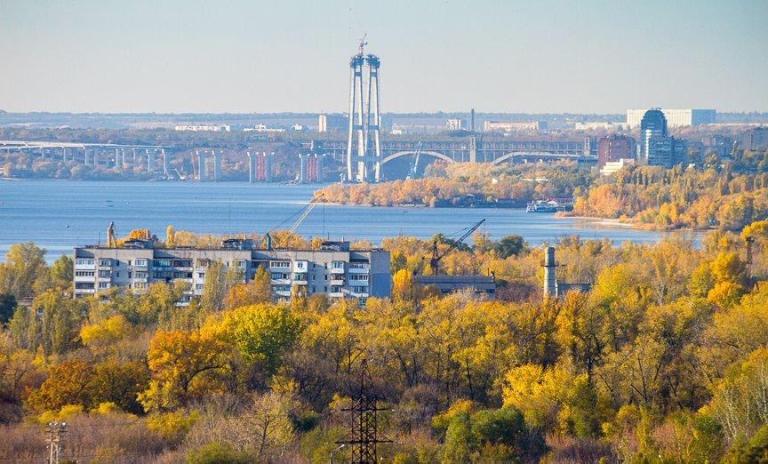 ФОТОПРОЕКТ: Осеннее Запорожье, вид с элеватора (фото) - фото 2