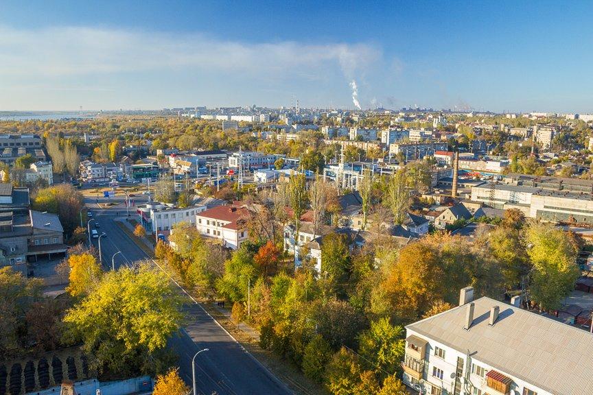 ФОТОПРОЕКТ: Осеннее Запорожье, вид с элеватора (фото) - фото 8