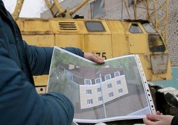 Сыктывкарцы своими силами стоят многоквартирный дом в центре города, фото-1