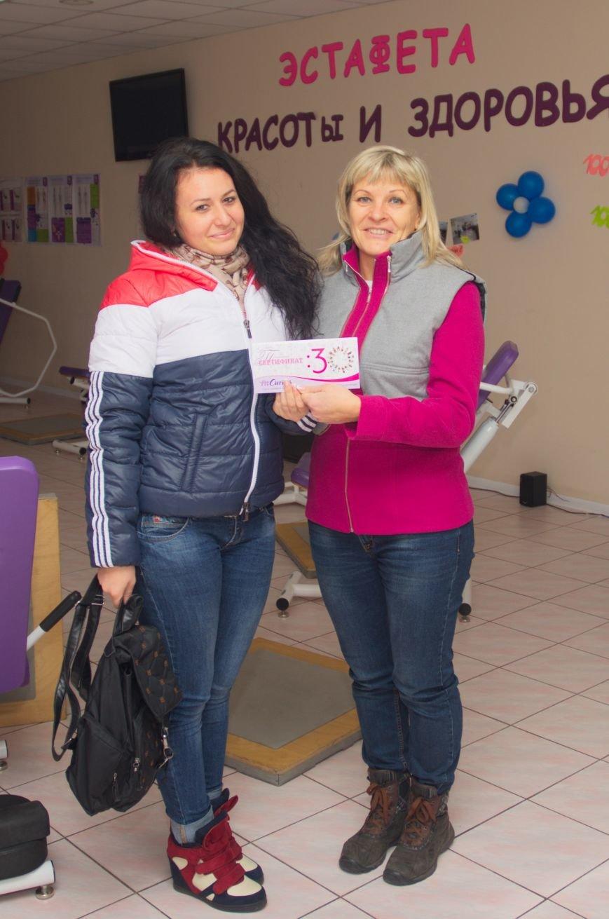 В Бердянске, в фитнес центре Fit Curves, прошло награждение победительниц фотоконкурса «Жемчужина Приазовья», фото-2